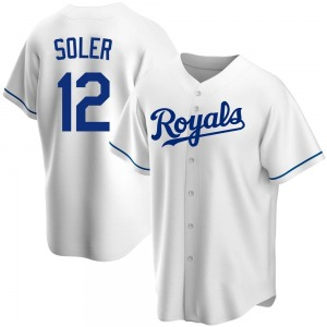 Jorge Soler Kansas City Royals Youth Replica Home Jersey - White