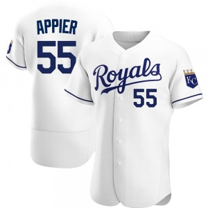 Kevin Appier Kansas City Royals Authentic Home Jersey - White